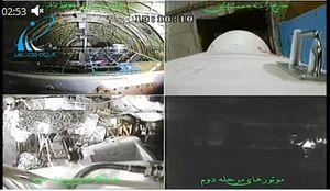 فیلم منتشره از دوربینهای نصب شده روی ماهوارهبر سیمرغ