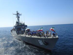 فیلم/ آمادگی ایران برای نابودی کشتیهای آمریکایی