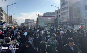 عکس/ راهپیمایی تماشایی ۲۲ بهمن