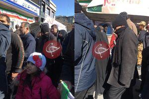 عکس/ حضور سردار قاآنی در راهپیمایی ۲۲ بهمن