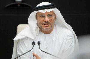 وزیر اماراتی: توافق با اسرائیل گام مهمی در راستای صلح در کرانه باختری است