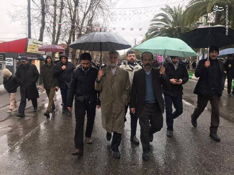 سعید جلیلی، عضو مجمع تشخیص مصلحت نظام در جمع مردم ساری