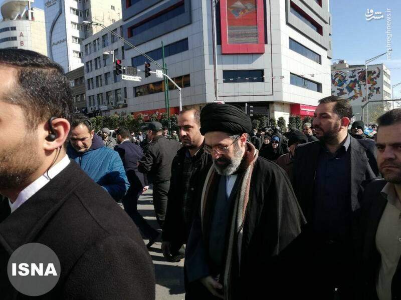 حجت الاسلام سیدمجتبی خامنهای فرزند رهبر انقلاب