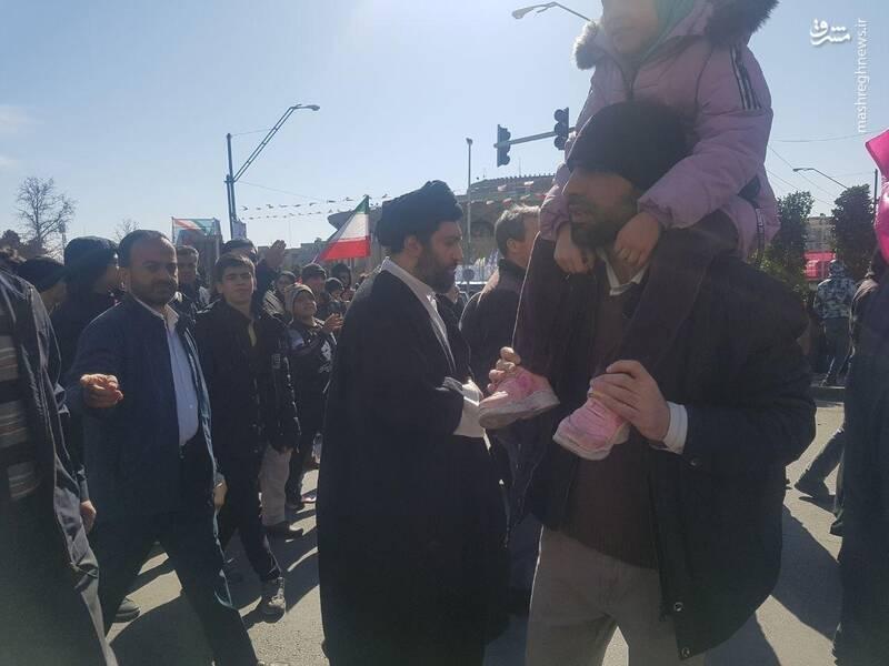 حجت الاسلام سید میثم خامنهای، فرزند مقام معظم رهبری