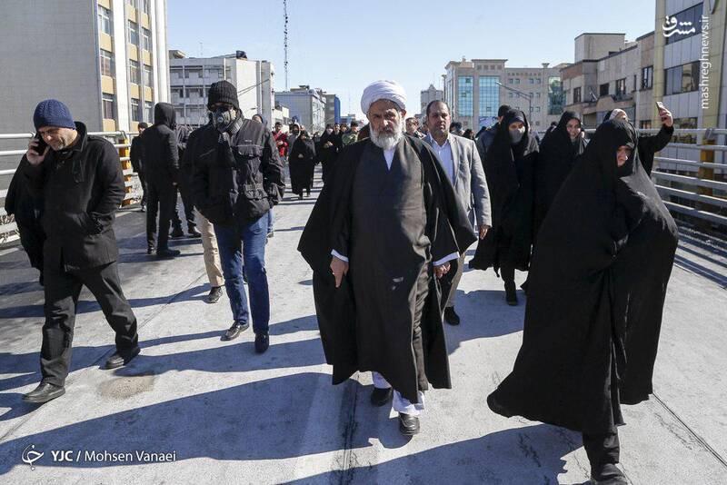 حجت الاسلام و المسلمین حسین طائب، رییس سازمان اطلاعات سپاه