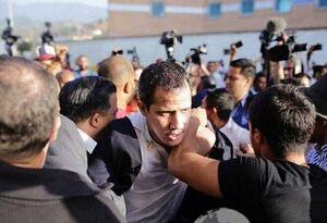 مردم ونزوئلا با شعار «قاتل» از گوایدو استقبال کردند