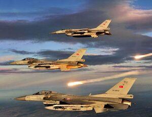 ادامه تهدیدات لفظی اردوغان علیه ارتش سوریه / ادعای ایجاد منطقه پرواز ممنوع در شمال سوریه توسط ارتش ترکیه +عکس و نقشه