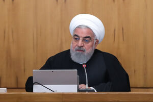 عکس/ جلسه هیئت دولت به ریاست روحانی