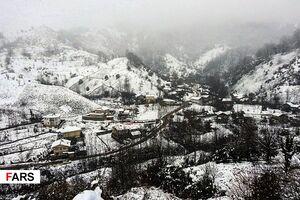 گیلان در برف