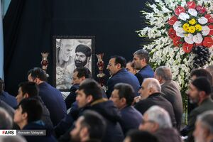 عکس/ مراسم گرامیداشت شهید مدافع حرم «اصغر پاشاپور»