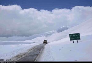 ارتفاع برف در شهرستان خلخال به بیش از ۴ متر رسید