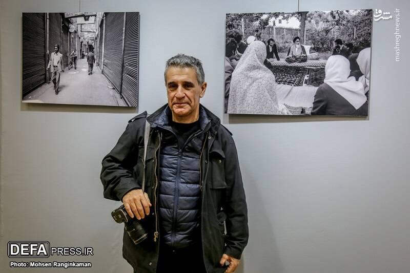 عکاس معروف فرانسوی: توصیه «امام» عکاسم کرد