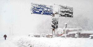 فیلم/ تلاش برای اتصال برق در میان برف و کولاک