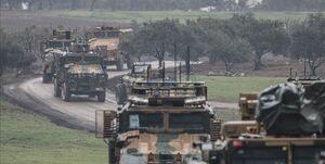 ادامه تحرکات ارتش ترکیه در سوریه +عکس