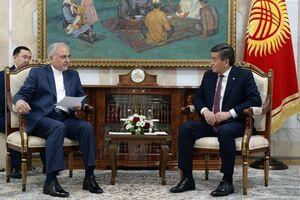 دیدار سفیر جدید ایران با رئیس جمهور قرقیزستان +عکس
