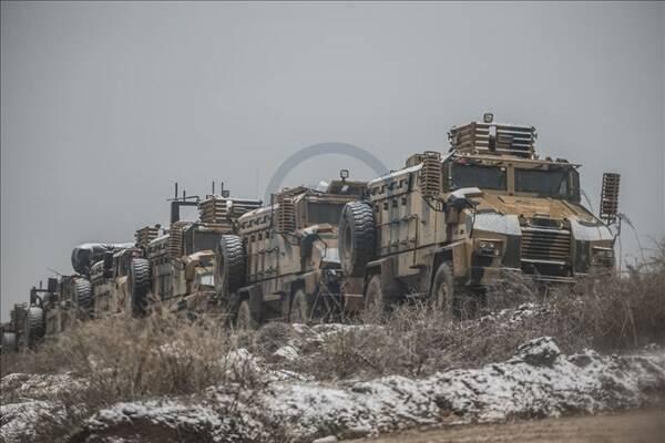ادامه تحرکات ارتش ترکیه در سوریه