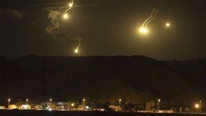 جزئیات حملات موشکی رژیم صهیونیستی به پایتخت سوریه/ شناسایی و انهدام حداقل ۹ موشک در آسمان دمشق + نقشه میدانی و عکس
