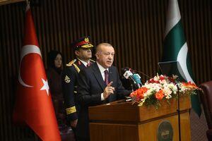 اردوغان: ترامپ به دنبال اشغالگری در خاورمیانه است