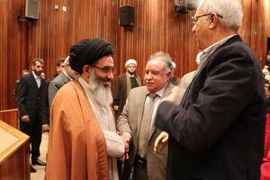 مراسم چهلم سپهبد سلیمانی در دمشق