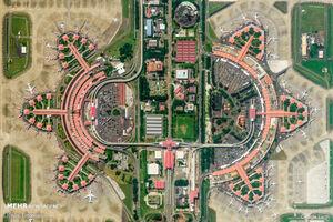 تصاویر ماهوارهای از نقاط مختلف زمین