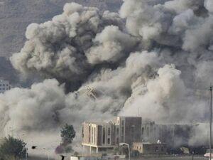 حمله به مناطق مسکونی انفجار