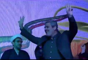 مراسم پرحاشیه ستاد انتخاباتی یک نماینده مجلس