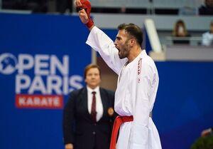 مدال طلای عسگری در لیگ جهانی کاراته وان