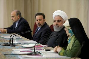 فیلم/ روحانی: بیش از ۴۲ درصد کارمندهای دولت بانوان هستند
