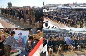 مراسم اربعین شهدای مقاومت در «آمرلی» عراق