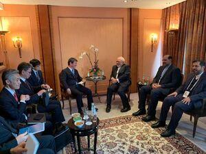 دیدار ظریف با وزیران خارجه اسپانیا و ژاپن