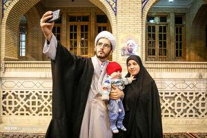مراسم عمامه گذاری طلاب در مشهد