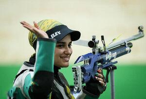 ۴ مدال برای تیراندازان ایران