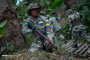 عکس/ مانور ارتش ونزوئلا در بحبوحه تنش با آمریکا