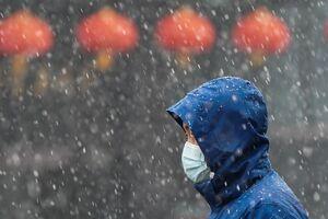 عکس/ بارش برف در ووهان چین
