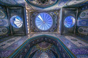تصویر زیبا از حرم حضرت ابوالفضل(ع)