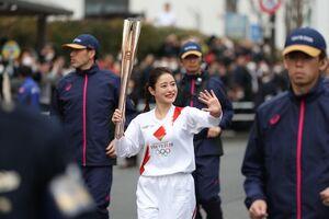 مراسم نمایشی مشعل المپیک
