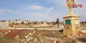 عکس/ منطقه خان العسل در حلب بعد از آزادسازی