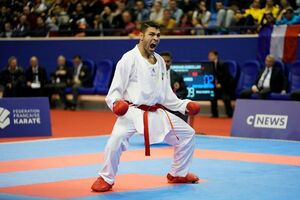 ۶ مدال رنگارنگ حاصل کار کاراته کاهای ایران