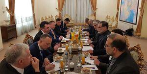 عکس/ دیدار دبیر شورای امنیت ملی اوکراین با شمخانی