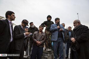 عکس/ نامزدهای شورای ائتلاف در بازار تهران