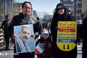 عکس/ مردمی که ۲۲ بهمن به خیابان آمدند چه مشاغلی دارند؟