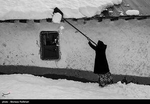 عکس/ بحران برف در گیلان پس از شش روز