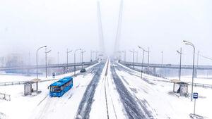 عکس/ برف و یخبندان در روسیه