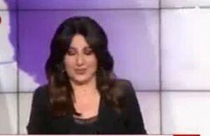 فیلم/ خنده مجری العربیه به گزارش مضحک خبرنگار