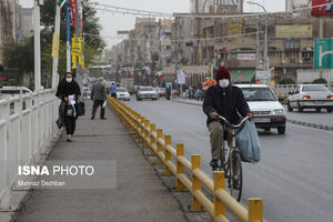 عکس/ اهواز در محاصره گرد و خاک