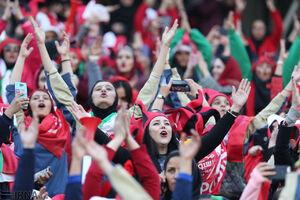 تماشاچیان فوتبال زن