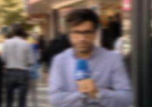"""فیلم/ خبرنگار معروف صداوسیما گزارشگر""""من و تو""""شد!"""