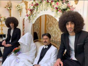 عکس/ مراسم عروسی رحمت در سریال پایتخت ۶