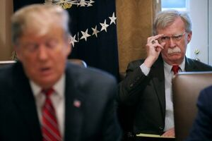 بولتون: راهبرد ترامپ علیه ایران رو به شکست است