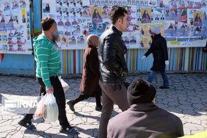 عکس/ تبلیغات انتخابات نامزدهای مجلس در اراک